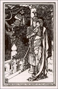 He Wins who Waits - The Olive Fairy Book by Andrew Lang, 1907