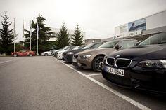 Todos los BMW M del Autosa M Drive Tour 2012