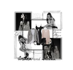 """Ariana & Selena "" by shanaramadi ❤ liked on Polyvore featuring Posh Girl, Chicnova Fashion, BERRICLE and Lanvin"
