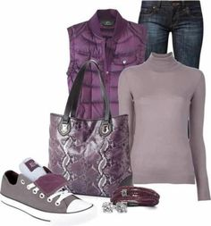 Purple fashion | Pinned by Nakeesha Richardson