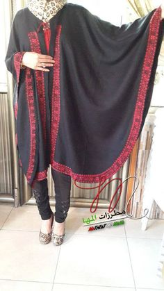 Palestinian embroidery cape .. cross stitch