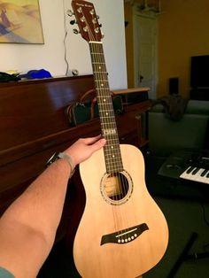 Rare Harley Benton MINI 2016 | $210 Harley Benton DS-10 MINI Thomann travel guitar.