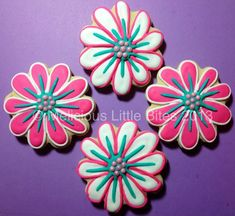 Flower Sugar Cookies by MeliciousLittleBites on Etsy