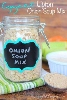 Copycat Lipton Onion Soup Mix