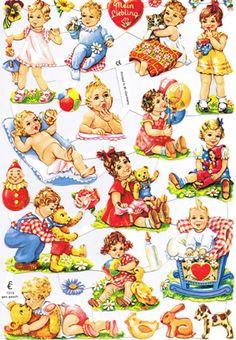 Browse by Category - German Corner LLC Vintage Wrapping Paper, Vintage Paper Dolls, Vintage Books, Vintage Greeting Cards, Vintage Postcards, Clipart Vintage, Vintage Baby Pictures, Retro Illustration, Baby Kind