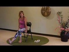 Can't stand on your feet to do balancing postures? Try these Seated Foot Health Sequences - YouTube