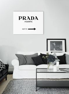 Picture framework prada marfa canvas art gallery by AmberandJones