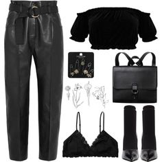 help me lose my mind by youvegotraye on Polyvore featuring Petar Petrov, Monki, Balenciaga and Topshop