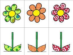Thema lente : memory deel 3 bloemen