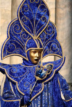 regal blue at the Carnival, Venice (by Tranquillity in Dark - Davide)