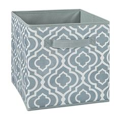 ClosetMaid Cubeicals Fabric Storage Bin is a convenient way to hold hobbies, toys, media, and office supplies. Designed to work perfectly with ClosetMaid Cubeicals Storage Organizers. Fabric Drawers, Fabric Storage Bins, Fabric Bins, Cube Storage, Storage Drawers, Storage Containers, Storage Boxes, Dorm Storage, Modular Storage