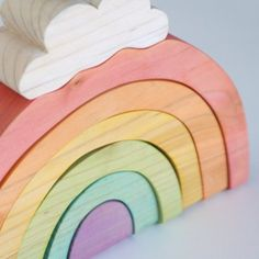 Sweet Rainbow stacking toy