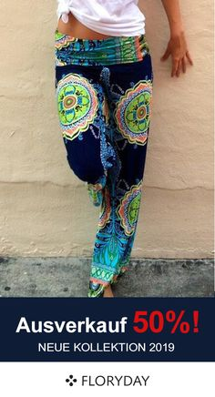 Shop Floryday for affordable Pants & Leggings. Floryday offers latest ladies' Pants & Leggings collections to fit every occasion. Gypsy Style, Boho Gypsy, Hippie Style, Hippie Boho, My Style, Bohemian Pants, Bohemian Style Clothing, Bohemian Blouses, Chic Clothing