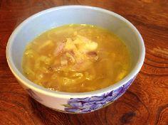 Te gek lekker en gemakkelijk te maken, bijvoorbeeld voor de lunch: Preisoep. Voedselzandloper proof.