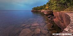 Located on Madeline Island, the largest of 22 Apostle Islands, this 2,350-acre park sports rugged wooded cliffs with dramatic views of Lake Superior. It contains a State Natural Area that is open for use by the public. Habitats include bogs, barrier beach, boreal forest and old growth hemlock. 4 mil