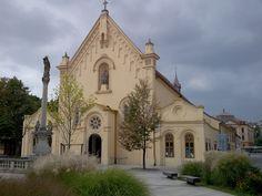 Slovakia, Bratislava - Capuchin church Bratislava Slovakia, Big Country, Church Building, Place Of Worship, Slovenia, Czech Republic, Homeland, Prague, Barcelona Cathedral