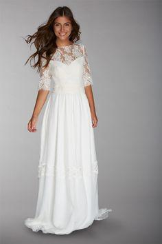 Les robes de mariée de Fabienne Alagama - Collection 2016 | Modèle : Julia | Crédits : Fabienne Alagama | Donne-moi ta main - Blog mariage
