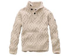 Men's Half-Zip Super Fine Merino Wool Sweater - Timberland