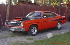 1973 Plymouth Duster - 440, with 250  H.P. nitrous, 900 H.P.