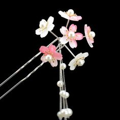 Buy Paparazzi Floral Hair Pin at YesStyle.com! Quality products at remarkable prices. FREE Worldwide Shipping available!
