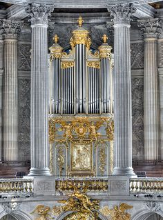 The Organ In The Chapel of Versailles