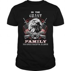 Cool GRANT Personalized Family Shirts T-Shirts