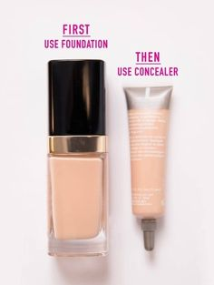 DIY Makeup Tutorials : Foundation first | Best Undereye Concealer Tips You Need To Know