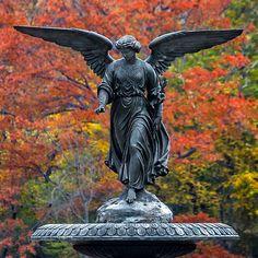 Bethesda Fountain, Central Park, NYCRon Diel on Flickr.