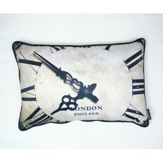 lava London Time Pillow