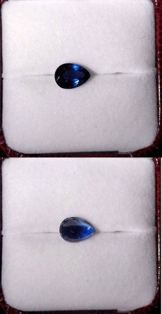 Kyanite 110799: Kynite, Gemstone, 2.45Ct. 10Mm X6mm Pear Cut Beautiful Blue Stone BUY IT NOW ONLY: $55.0