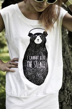 I CANNOT BEAR THE SILENCE - SAY IT LIKE AN ANIMAL - _deconcept_ - Bluzki