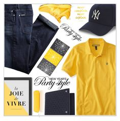 """""""Men's Fashion"""" by salihovic-nihad ❤ liked on Polyvore featuring Aéropostale, 7 For All Mankind, Athletic Propulsion Labs, New Era, Americanflat, Valentino, Smythson, men's fashion and menswear"""