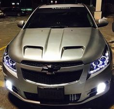 I want this hood for my car! Chevy Cruze Custom, 2017 Chevy Cruze, Chevy Ss, Chevy Impala, Chevrolet Silverado, Chevy Malibu Ltz, 2011 Chevy Malibu, Malibu Car, Custom Cars