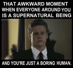 Lol... so true but thats what we luv about him -The Vampire Diaries