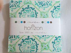 "Horizon by Kate Spain for Moda 5"" charm packs"