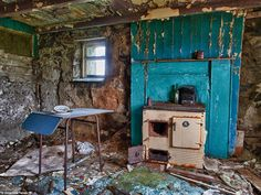 This photo, titled 'George's House' was taken on the small Island of Eriskay which lies be...
