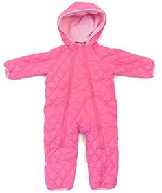 ae2903536ff Amazon.com  Snozu Infant and Toddler Fleece Lined Ultralight Quilting One  Piece Snowsuit  Clothing
