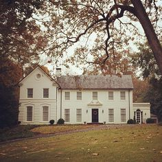 Limestone & Boxwoods - Instagram (@limestonebox) - An all white house in Buckhead, Atlanta.