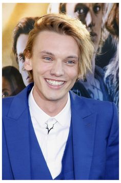 Jamie Campbell Bower Wears Alexander McQueen for The Mortal Instruments: City of Bones Premiere