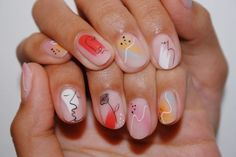 The Best Nail Sticker Ideas Courtesy of These Celeb Nail Designs I AM CO Nail stickers and nail decals are a fantastic way to cut to the chase and get your favorite popular nail art designs in minutes rather than hours Minimalist Nails, Minimalist Kitchen, Nail Decals, Nail Stickers, Manicure Y Pedicure, Gel Nails, Manicure Ideas, Nail Tips, Cute Nails