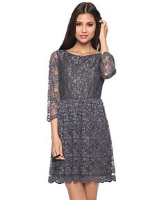 Love the lace dresses that Kate Middleton wears?  Check out this inexpensive grey dress from Forever 21 - only $23!  This would look perfect with nude pumps and a pretty clutch.