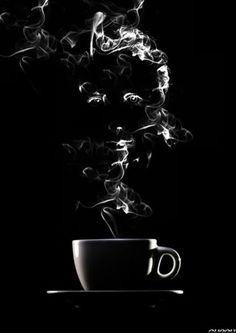 good cup of coffee helps to face the day....