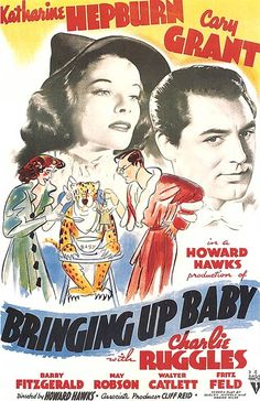 I wish they'd draw movie posters like these nowadays. A fantastically funny and quirky movie, with Katherine Hepburn at her finest.