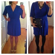 Petite Style File: Monday Inspiration: Cobalt Blue Petite Dress For Every Season
