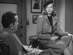 "Bogie & Bacall in ""The Big Sleep"""