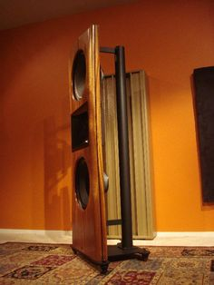 Open baffle Ardento speakers.