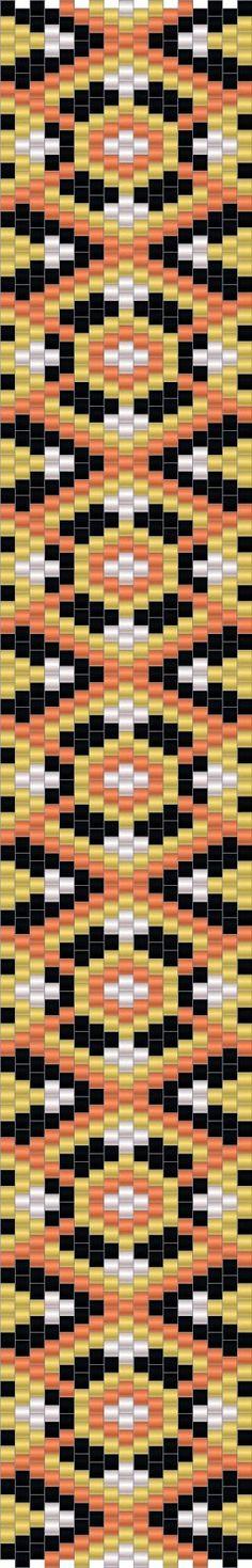 http://anabel-beadpatterns.blogspot.com/  Схемы браслетов - мозаичное плетение - free peyote patterns
