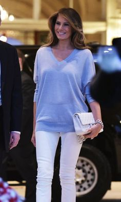 Melania Trump's first lady fashion: See what (and who) she has been wearing