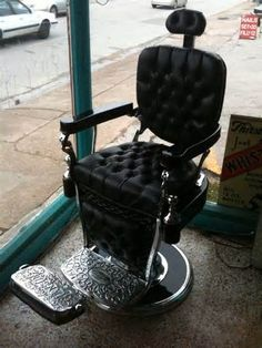 Art Deco Barber Chair