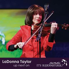 When young LaDonna Taylor began to play violin, people who listened started getting healed. Today many experience pain leaving their bodies as they hear her worship music.